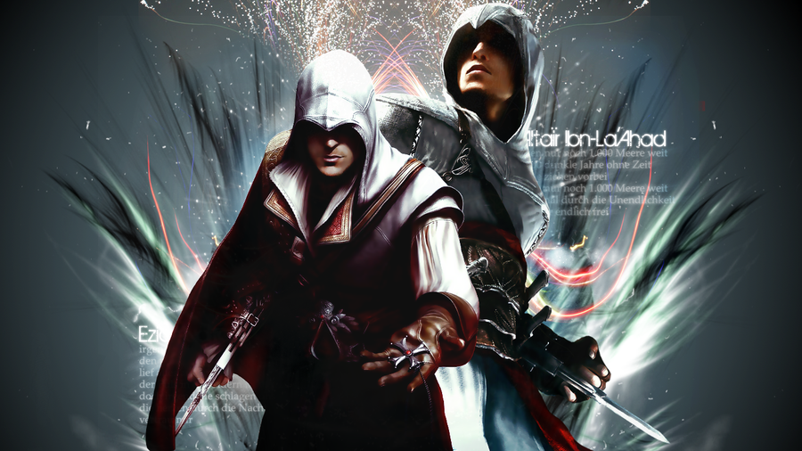 Free Download Ezio And Altair Wallpaper By Dap 900x506 For Your
