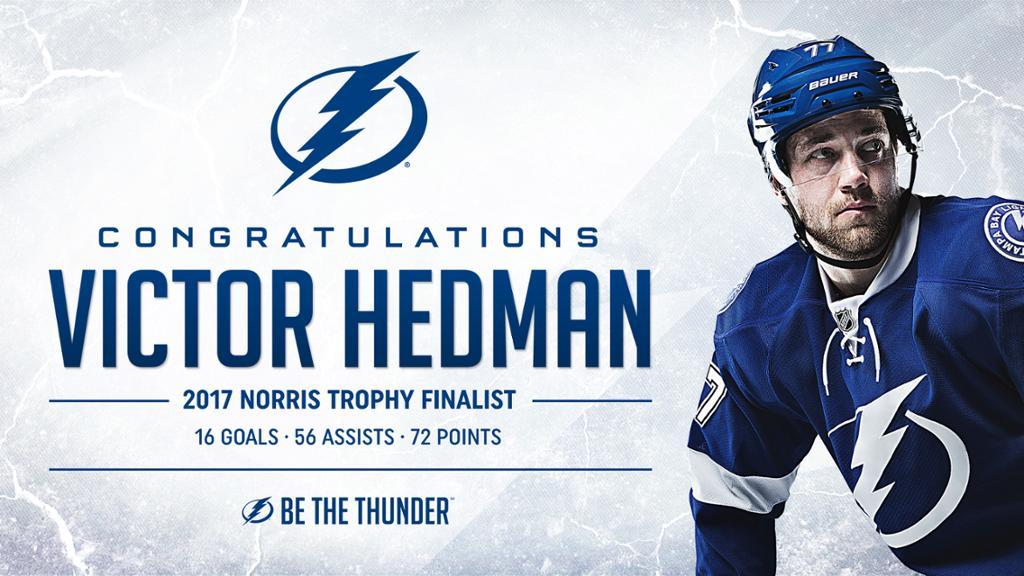 Victor Hedman a worthy Norris Trophy finalist NHLcom 1024x576