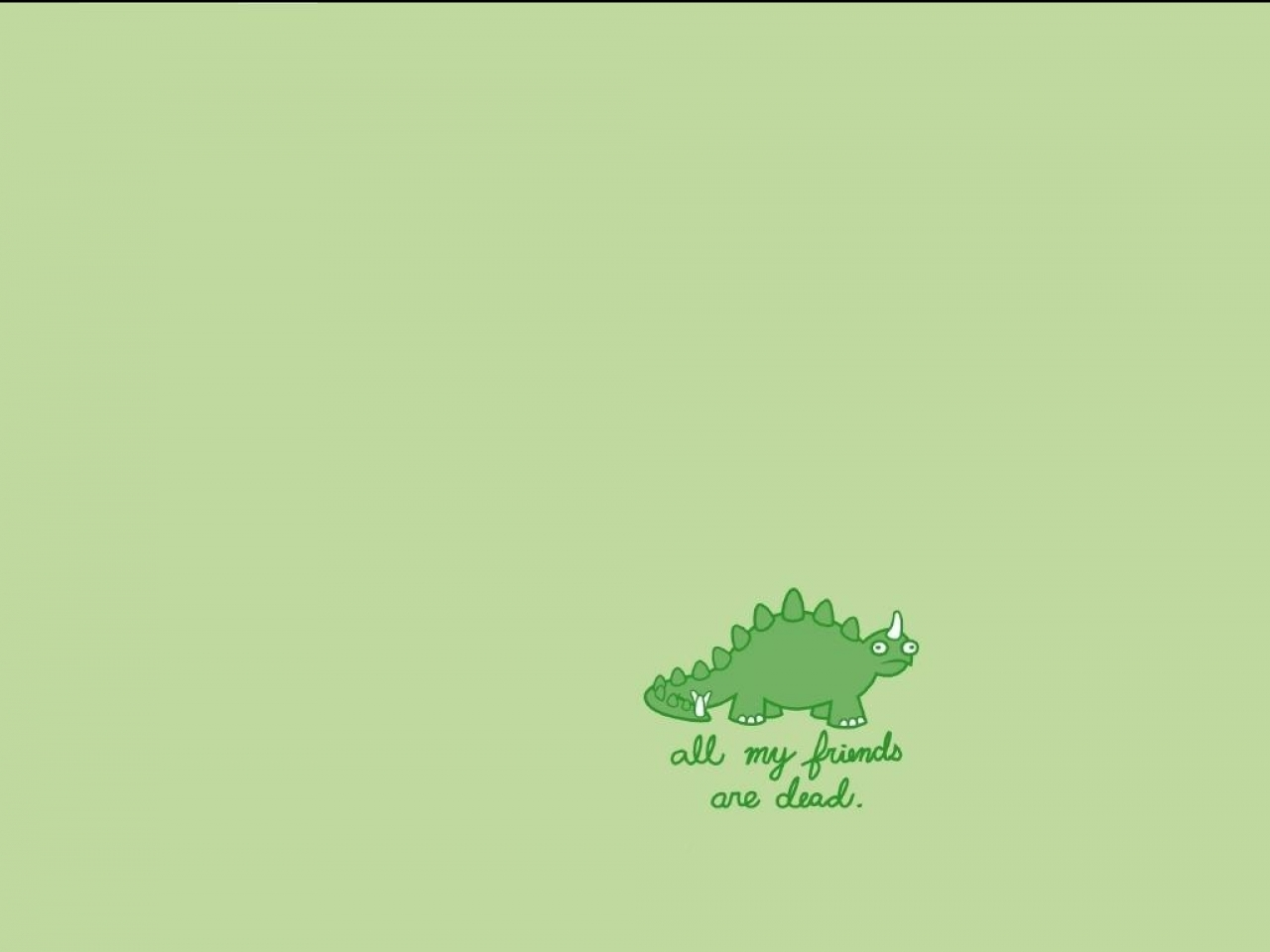 Cute Dino Wallpaper for Pinterest 1280x960