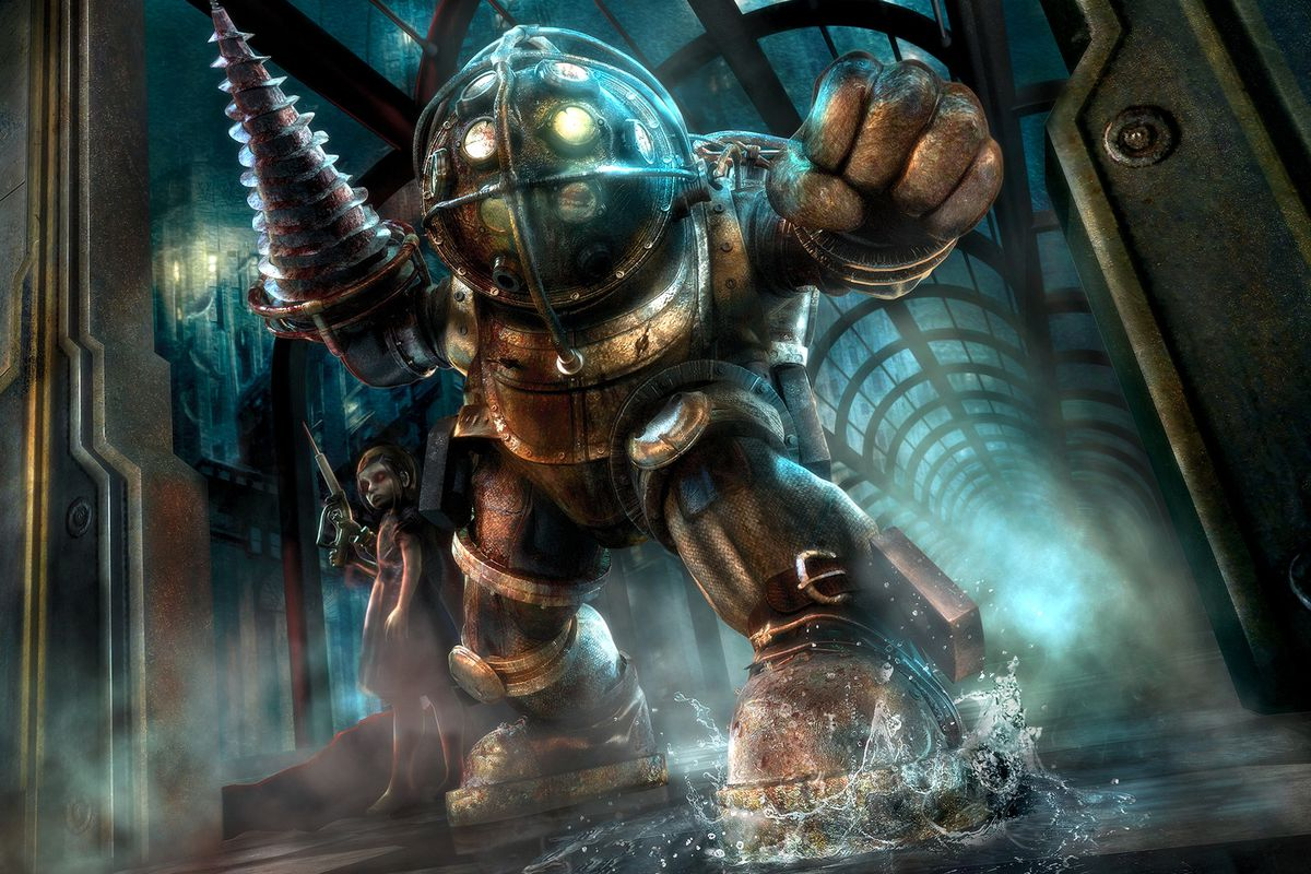 Pick up BioShock 1 and 2 for 399 now on Steam get upgraded 1200x800