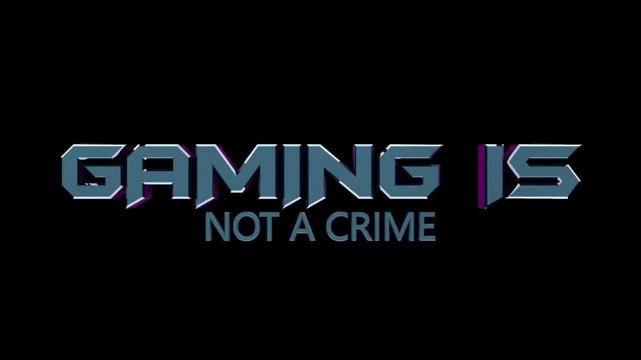 Gaming is never a Crime Quotes Hd desktop Desktop Wallpaper 1280x720