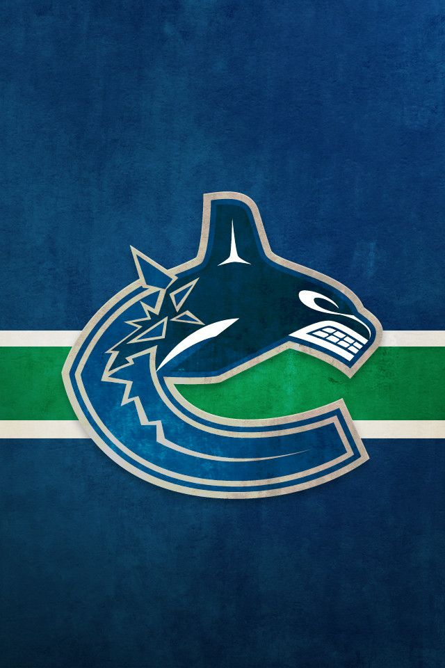 Vancouver Canucks iPhone Background NHL WALLPAPERS Pinterest 640x960
