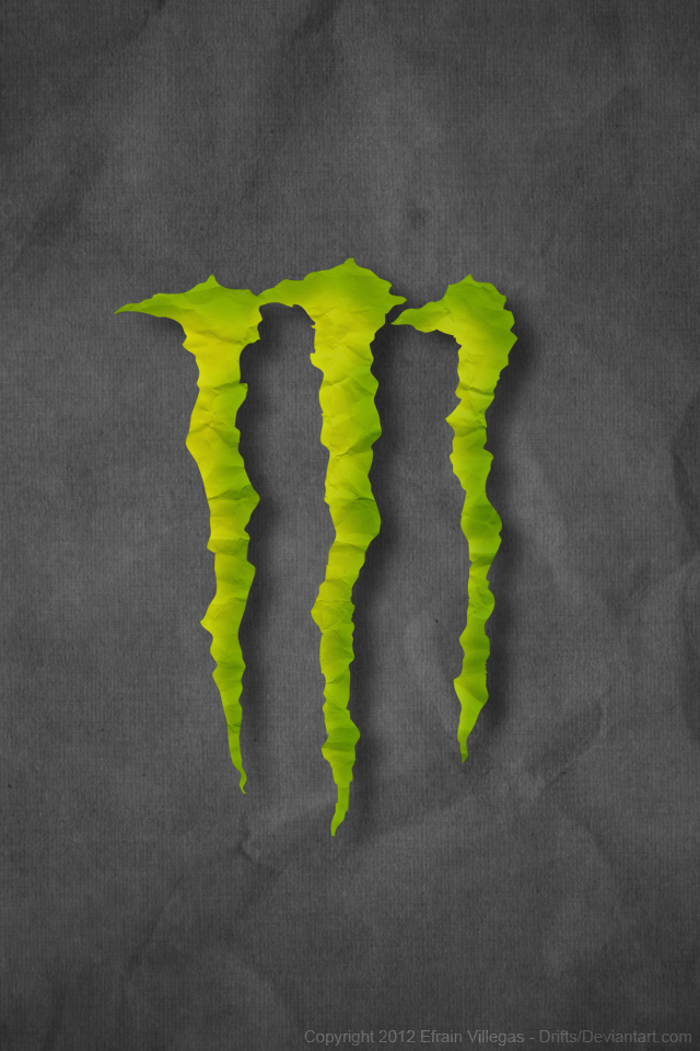 Monster Energy wallpaper iPhone 44S by Drifts 640x960