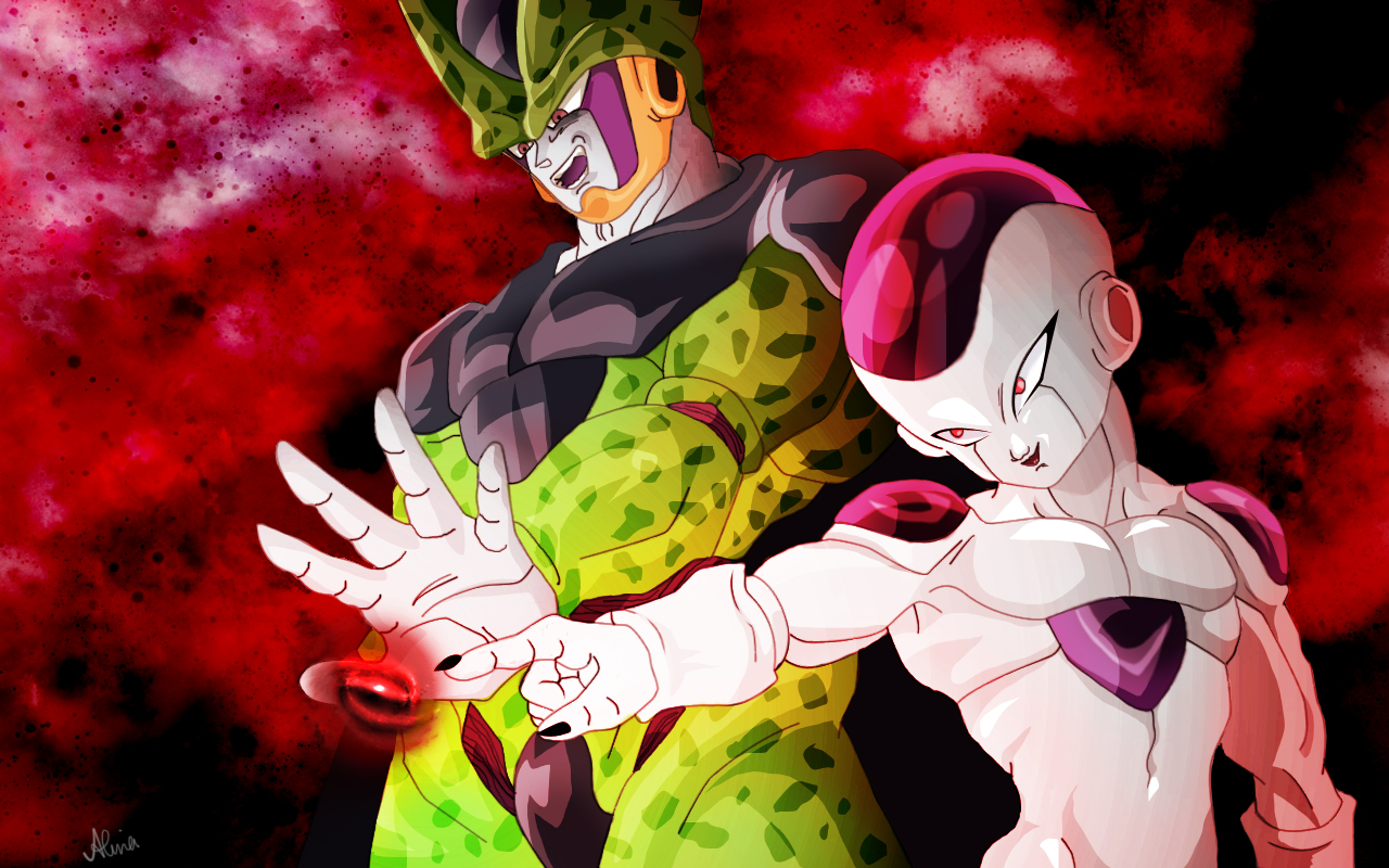 Frieza Cell Wallpaper by DiruLiCiouS 1280x800