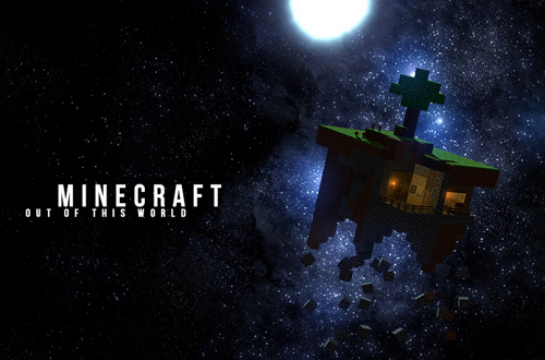 Minecraft Wallpaper For Your Bedroom   Children Bedroom Furniture 500x330