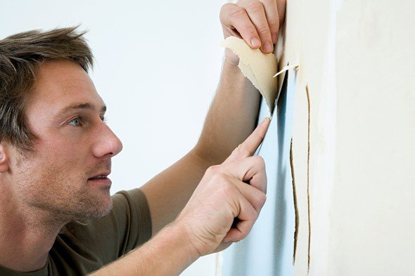 How to Remove Wallpapers Quickly Effectively at Home 590x393