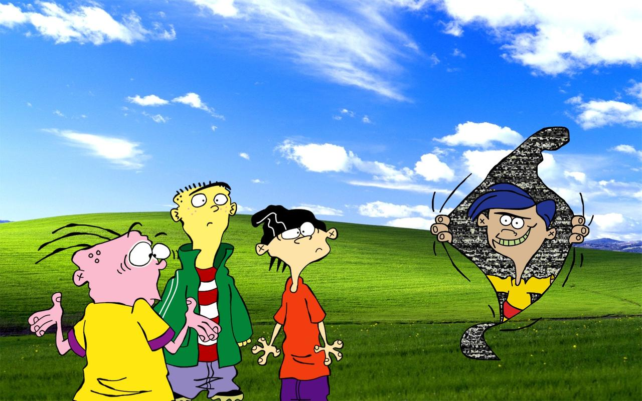 Ed Edd n Eddy Windows XP Wallpaper 4 by SavageBolt95 1280x800