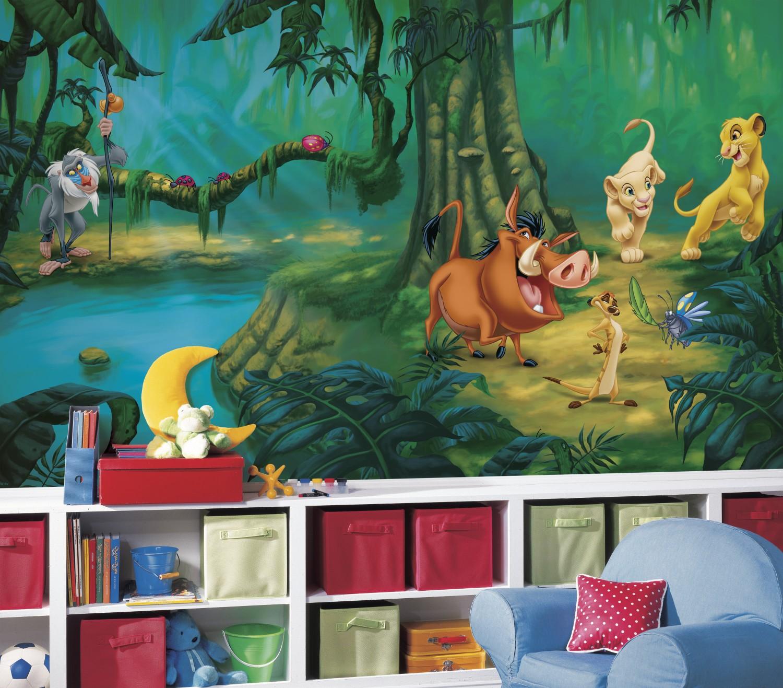 The Lion King Xl Wallpaper Mural 10 5 X 6 Wall Sticker Shop