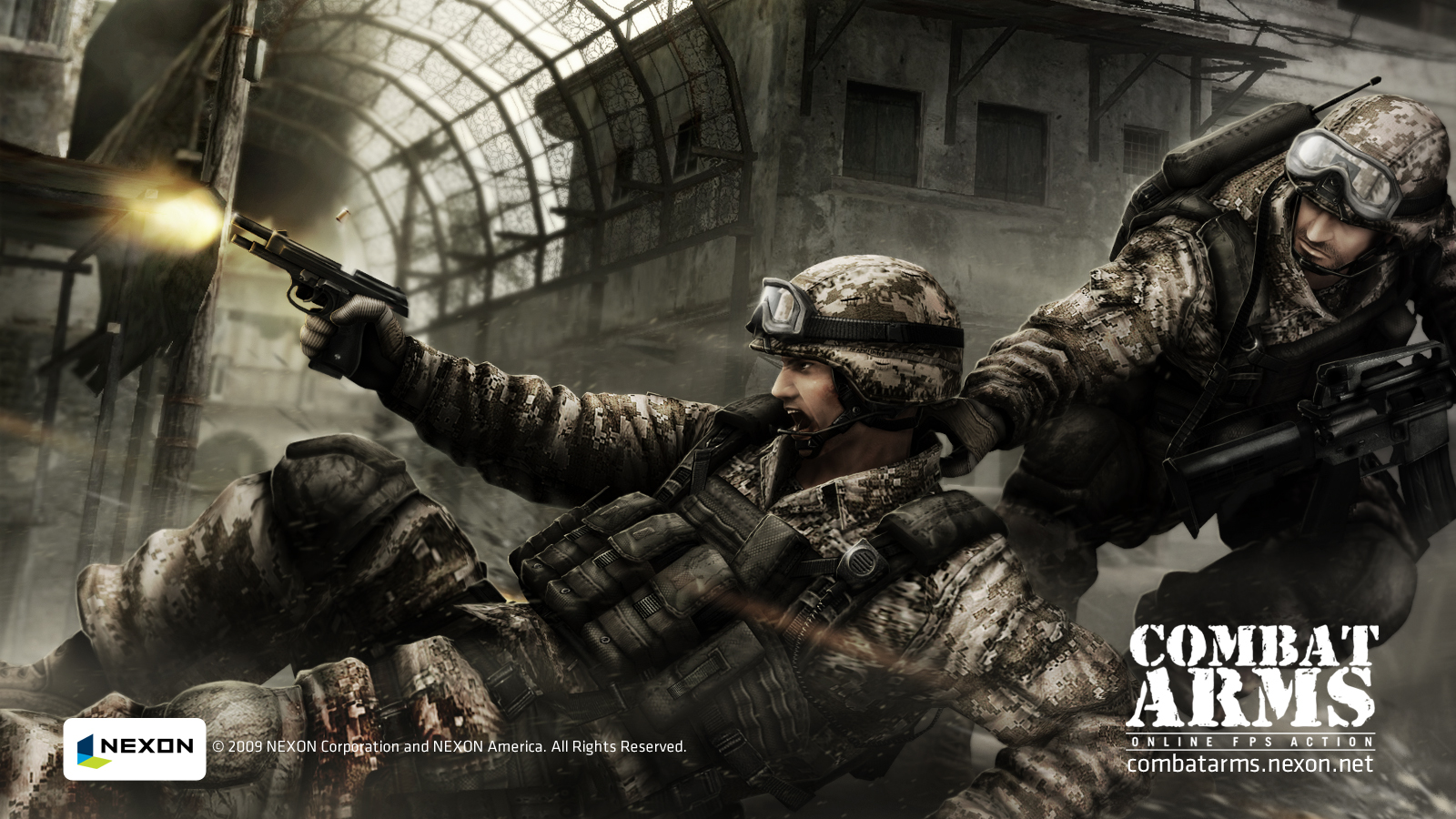Fond decran Combat Arms Jeu vido   Wallpaper 1600x900