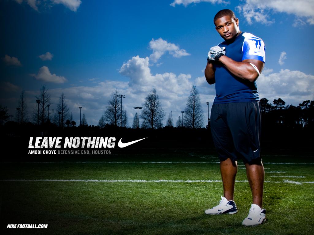 NFL Nike Football Motivational Leave Nothing Amobi Okoye Houston 1024x768