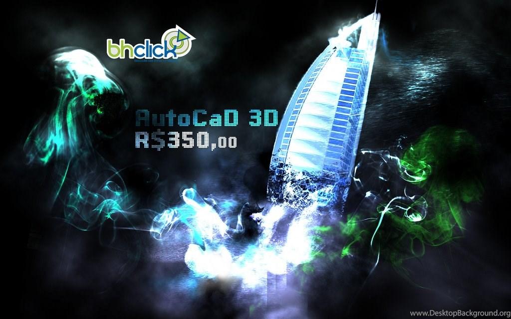 Wallpapers Autocad 3D Desktop Background 1024x640