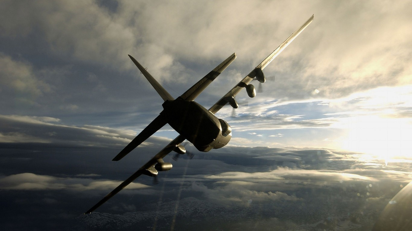 Lockheed C 130 Hercules wallpaper 9881 1366x768