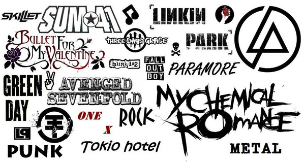 rock bands wallpaper 600x321
