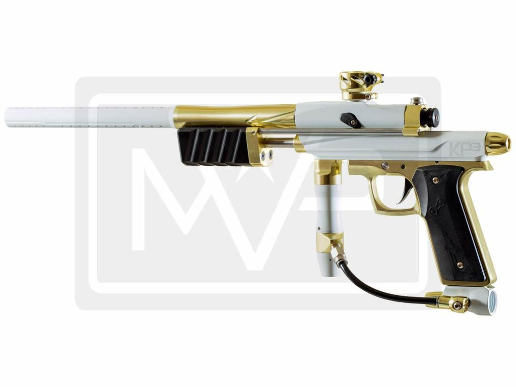 Azodin KP3 Pump Paintball Gun   White Gold Mountain View Paintball 1024x768