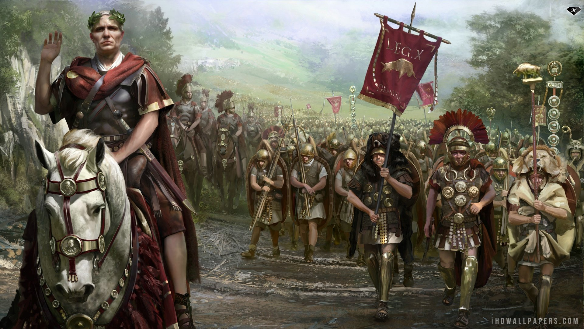 Total War Rome II HD Wallpaper   iHD Wallpapers 1920x1080