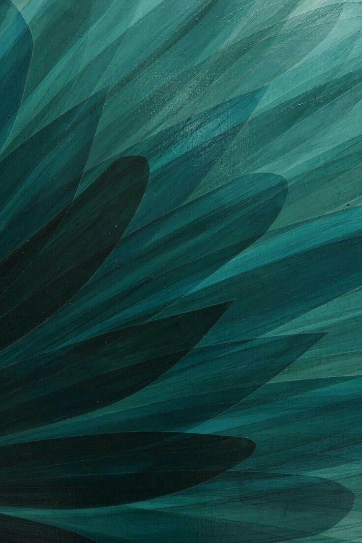 Quetzal Green PATTERN in 2019 Teal wallpaper Dark teal iphone 736x1104