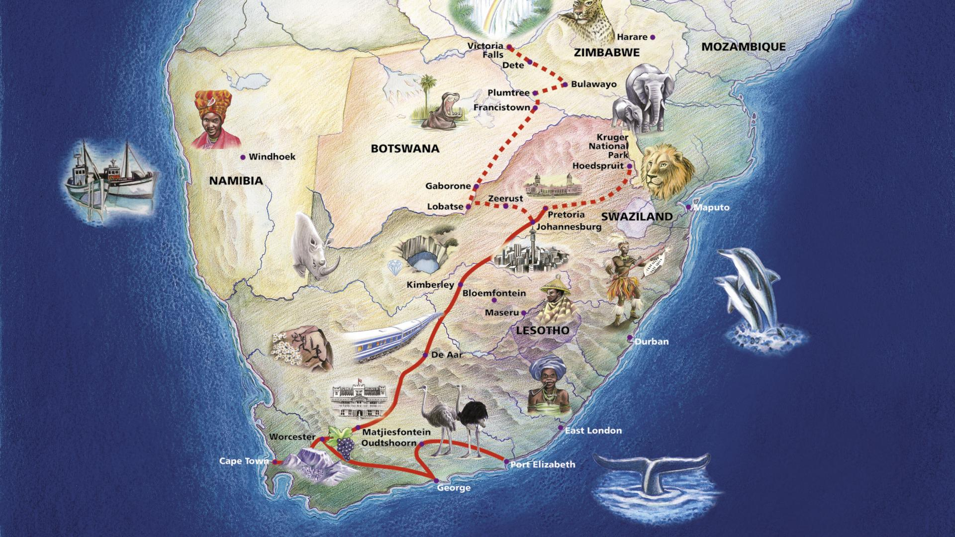 the blue train route map south africa high resolution 9EfX 1920x1080