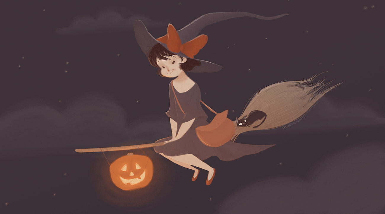 cute witch halloween wallpaper wallpapersafari Cartoon Car Crash Car Accident Clip Art