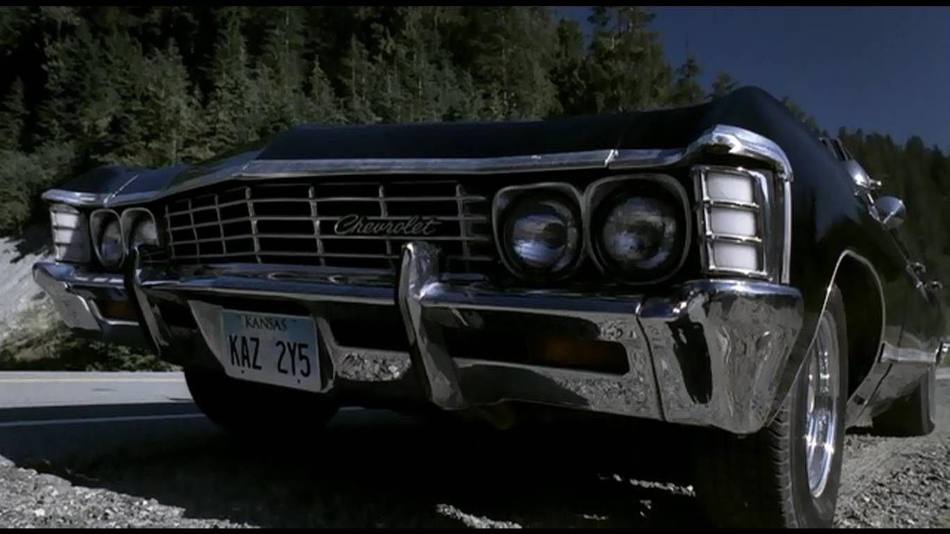 supernatural car impala wallpaper - photo #14
