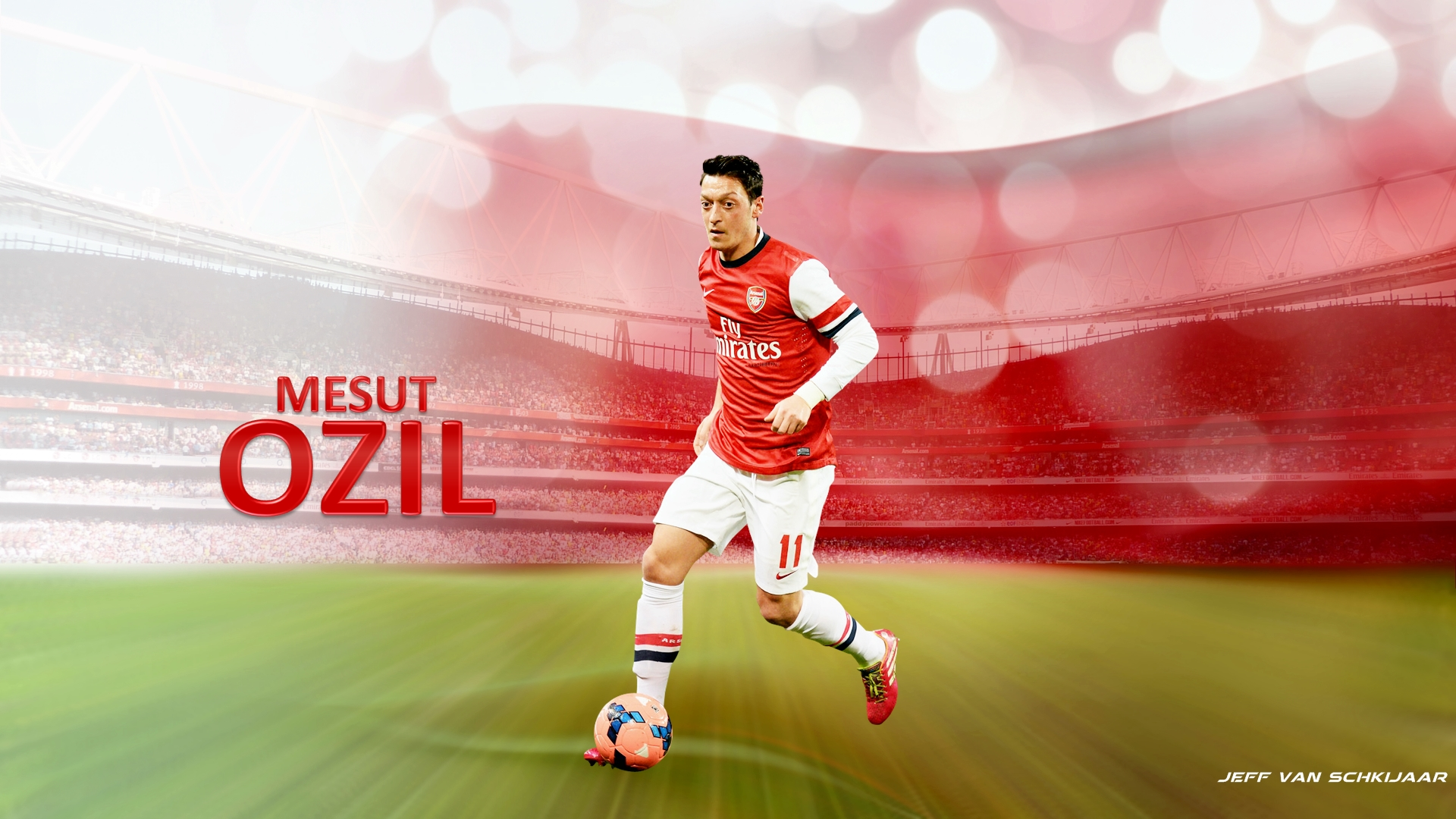 Mesut Ozil Arsenal Wallpaper HD 2014 2 Football 1920x1080