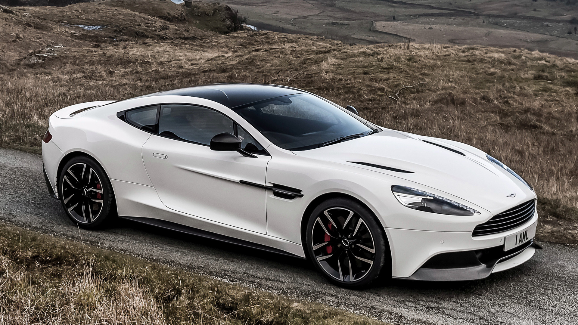 2014 Aston Martin Vanquish Carbon White UK   Wallpapers and HD 1920x1080
