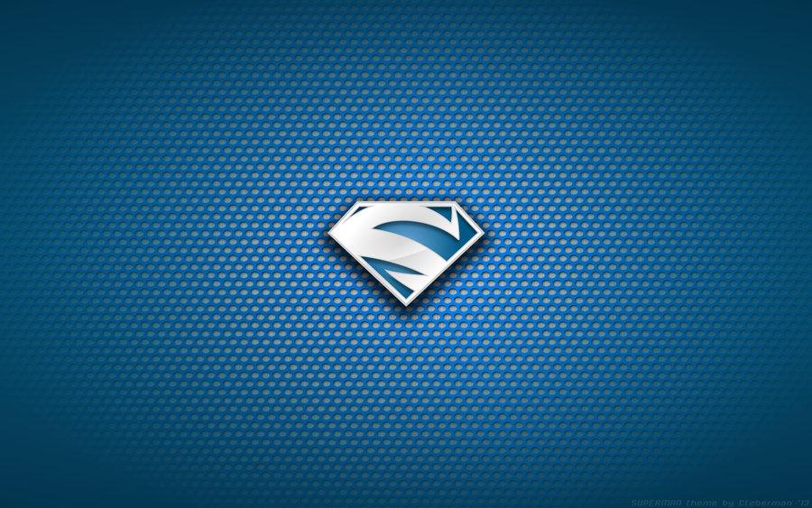 Wallpaper   Superman Electric Blue 98 Logo by Kalangozilla on 900x563