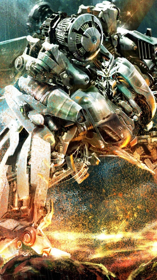 Transformers Robot War iPhone 5s Wallpaper Download iPhone 640x1136