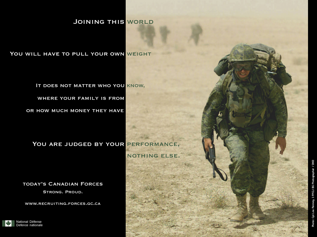 Pin Canadian Forces Wallpaper 1024x768