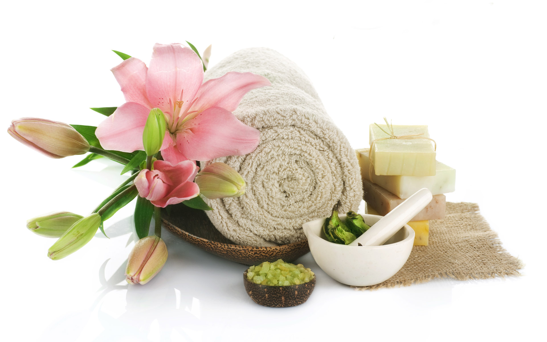 spa treatment wallpaper - photo #35