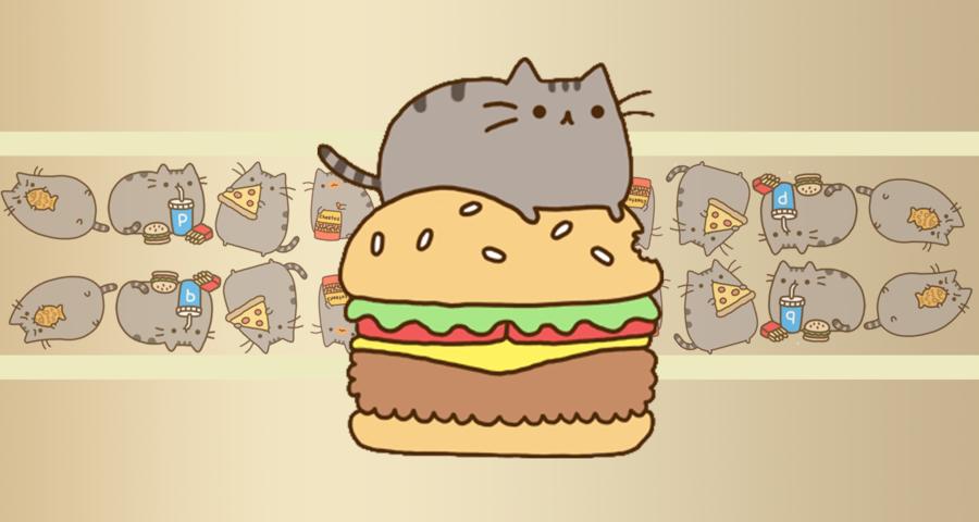 Pusheen The Cat Wallpaper Iphone Wallpaper Daily 900x480