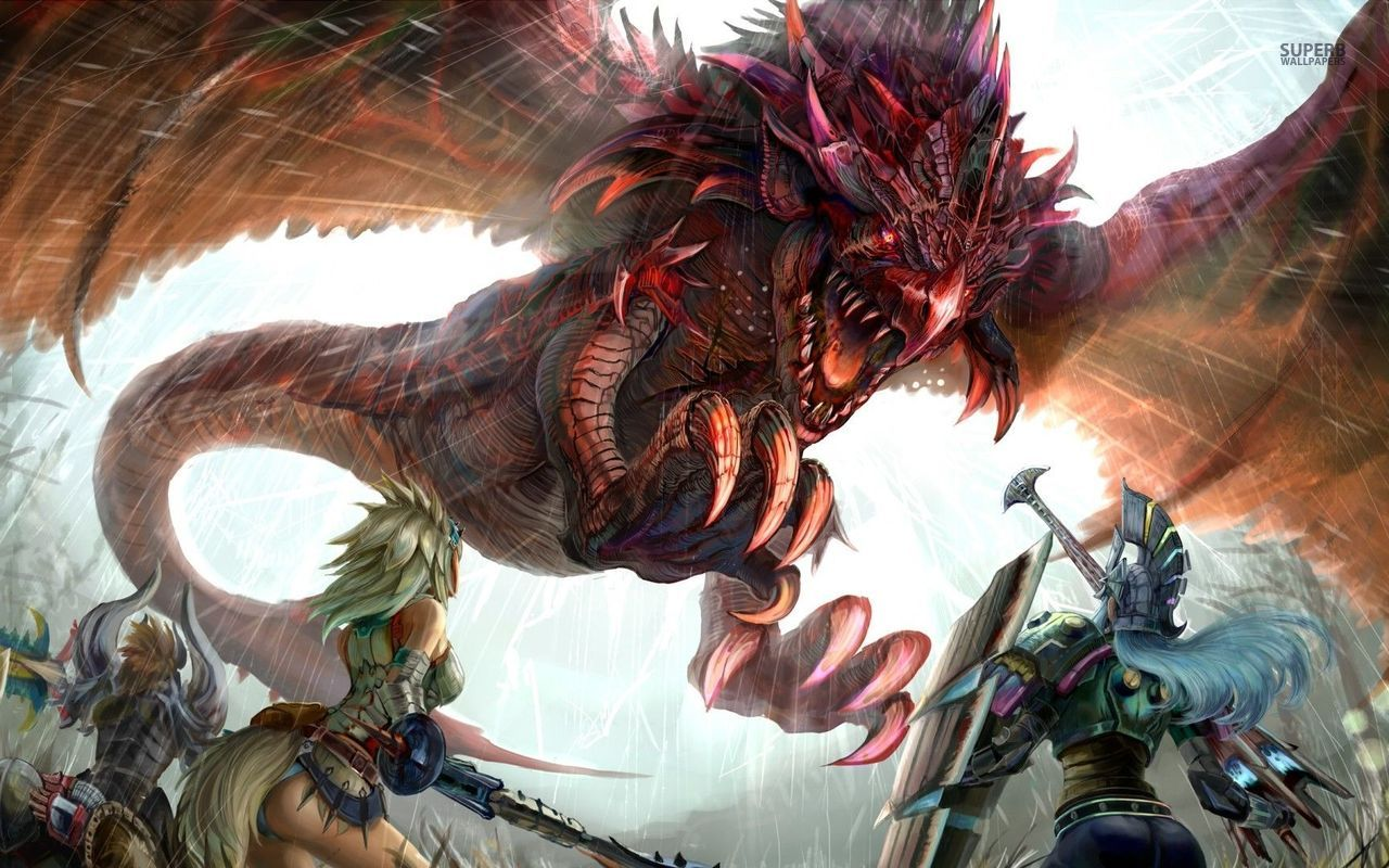 73 Monster Hunter Wallpapers On Wallpapersafari