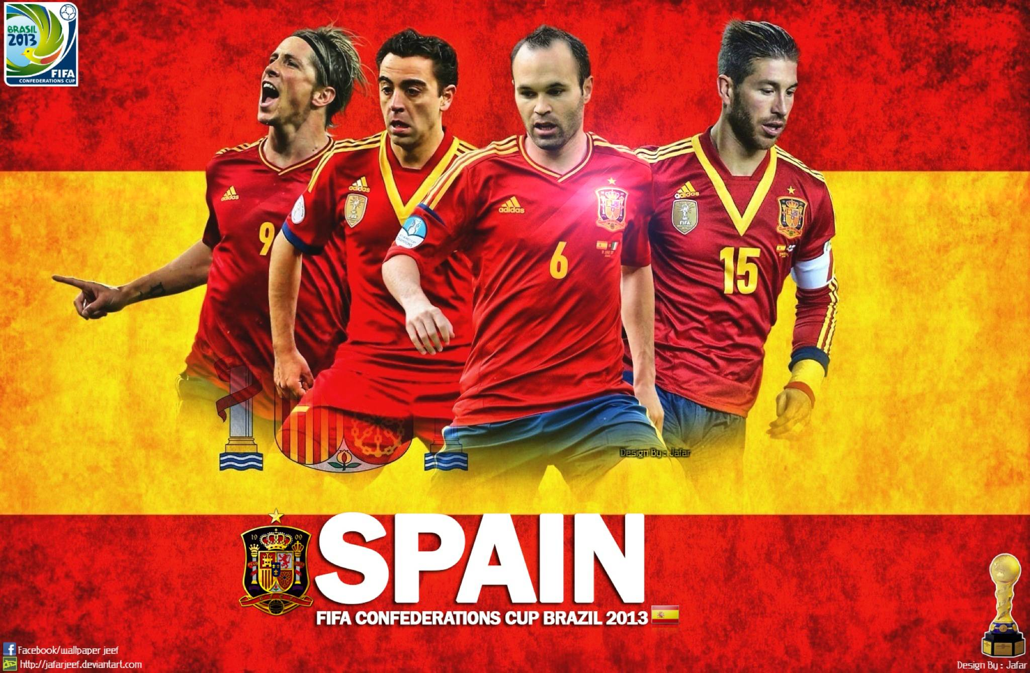 Spain National Team Wallpapers 2048x1338