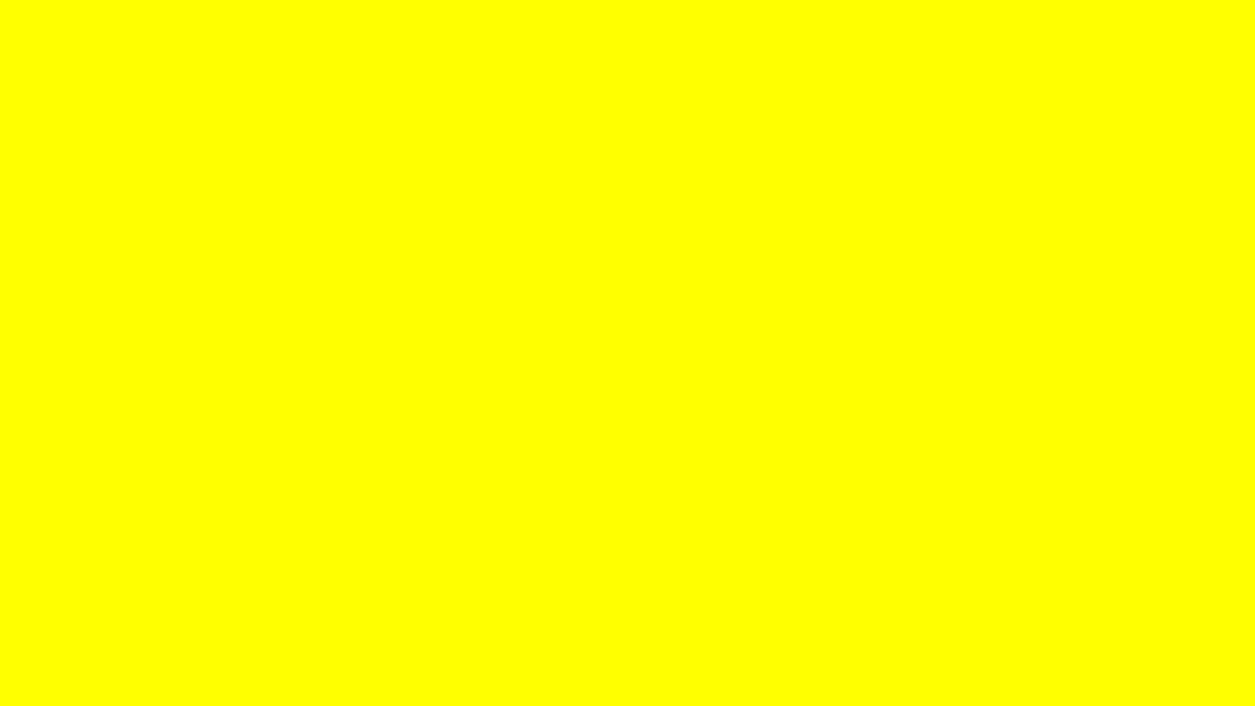 Color Yellow Background 2560x1440 yellow solid color 2560x1440