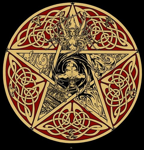 Celtic Pagan Wallpaper...