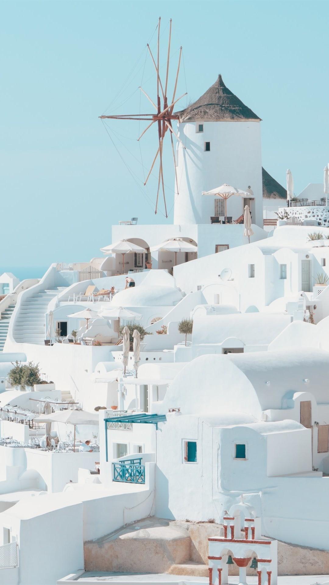 73 Santorini Wallpapers on WallpaperPlay 1080x1920
