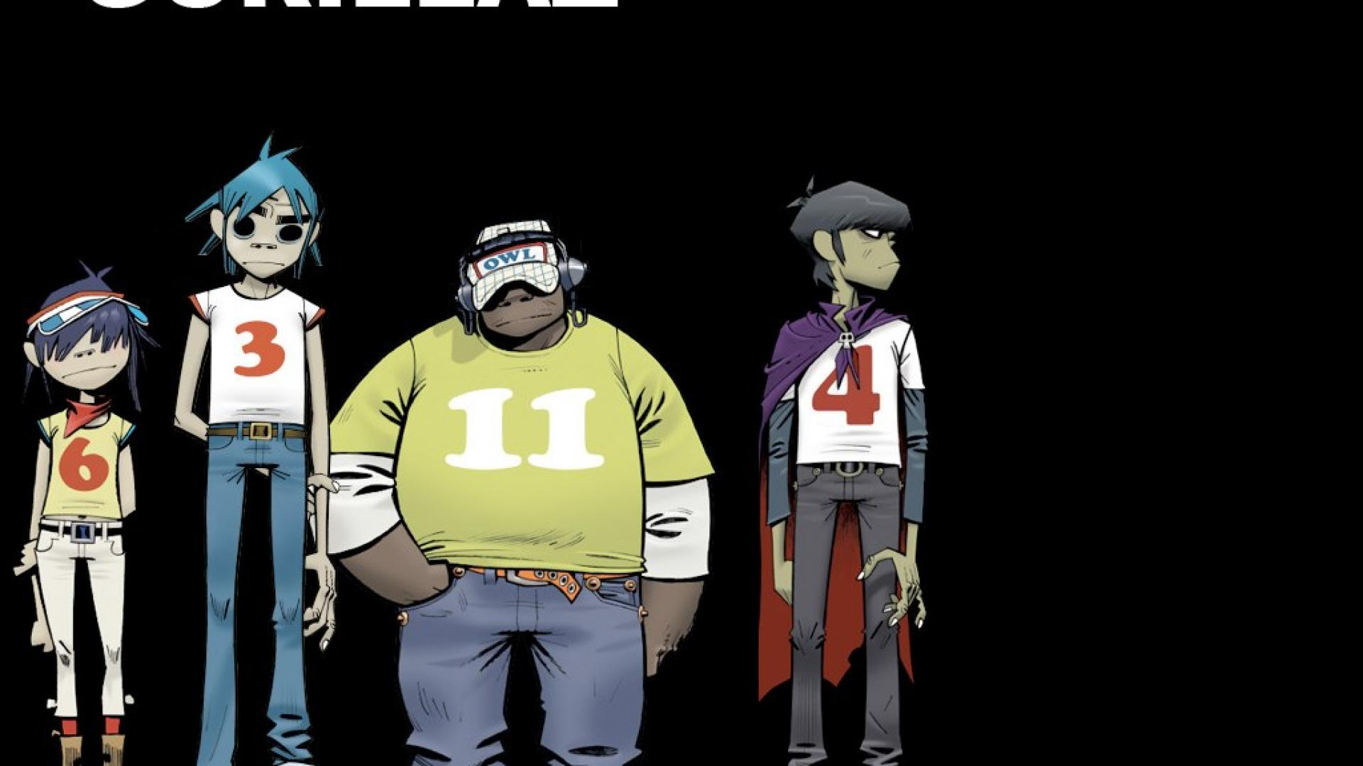 Free Download Gorillaz Bands Music Hd Wallpaper 460 Hq