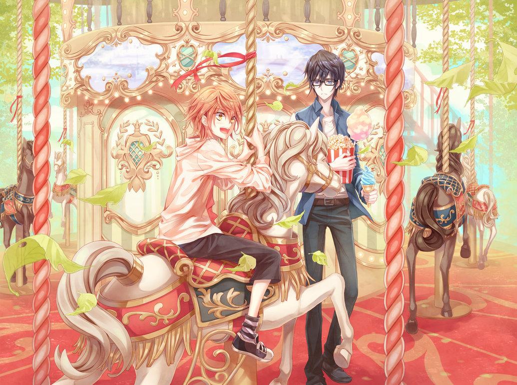 [K]Merry Go Round by fylus 1035x772