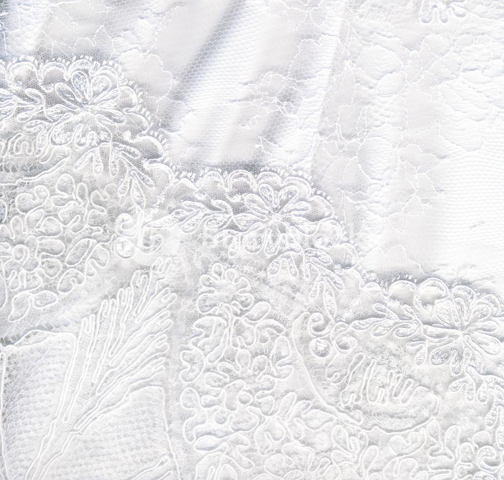 Beautiful Pure White Textile Wedding Background Royalty  Stock 1000x953