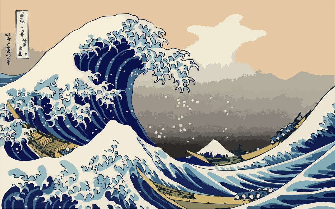 The Great Wave Off Kanagawa Wallpapers 1131x707