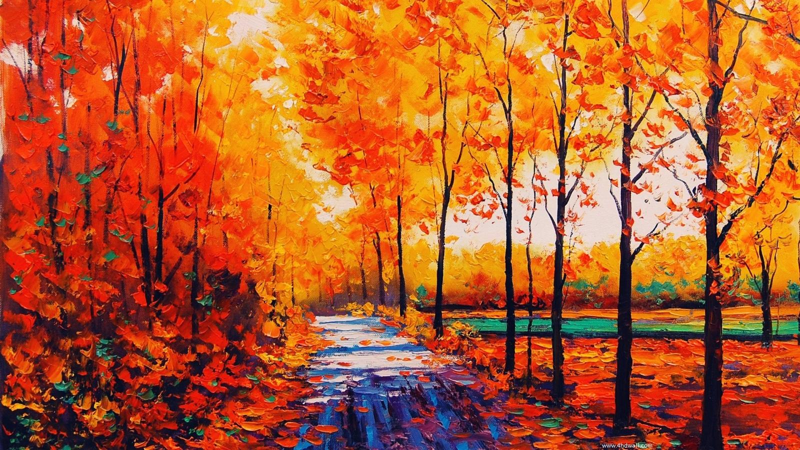 Home Nature Landscapes Fall Season Desktop Background 1600x900