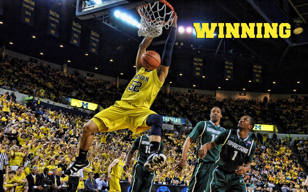 Free Download Michigan Basketball Wallpaper Wallpaper