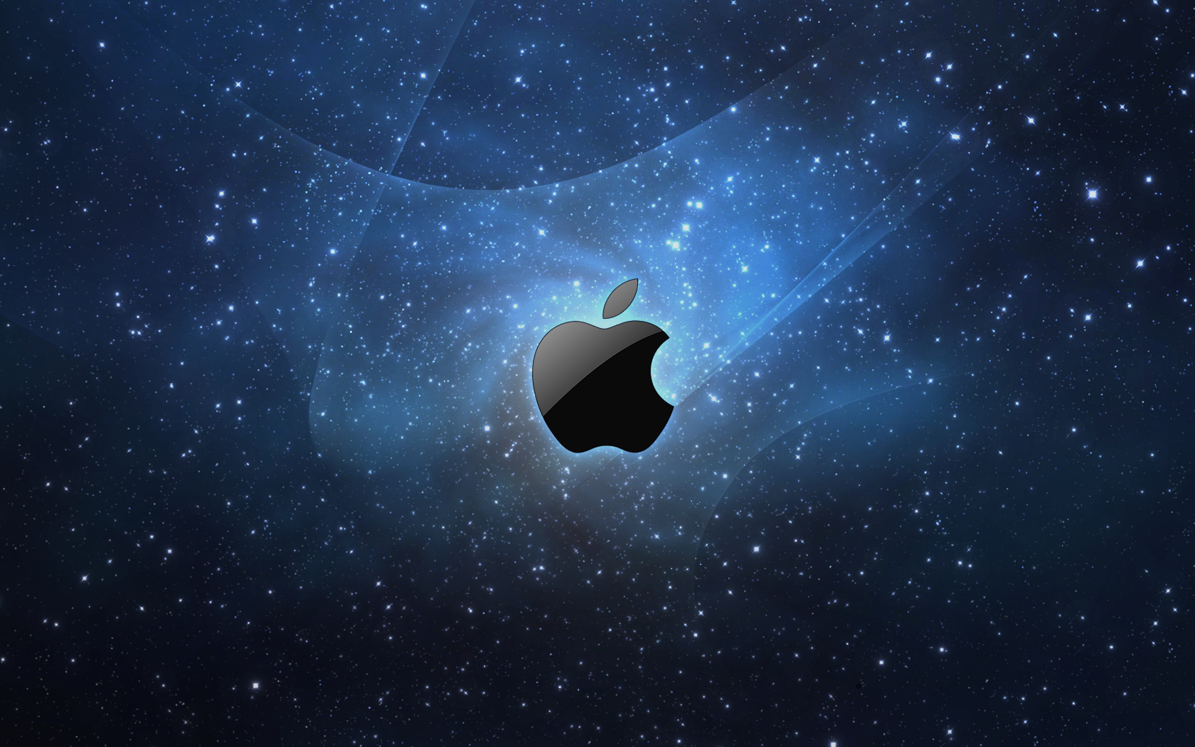 1680x1050 Stars and Apple desktop PC and Mac wallpaper 1680x1050