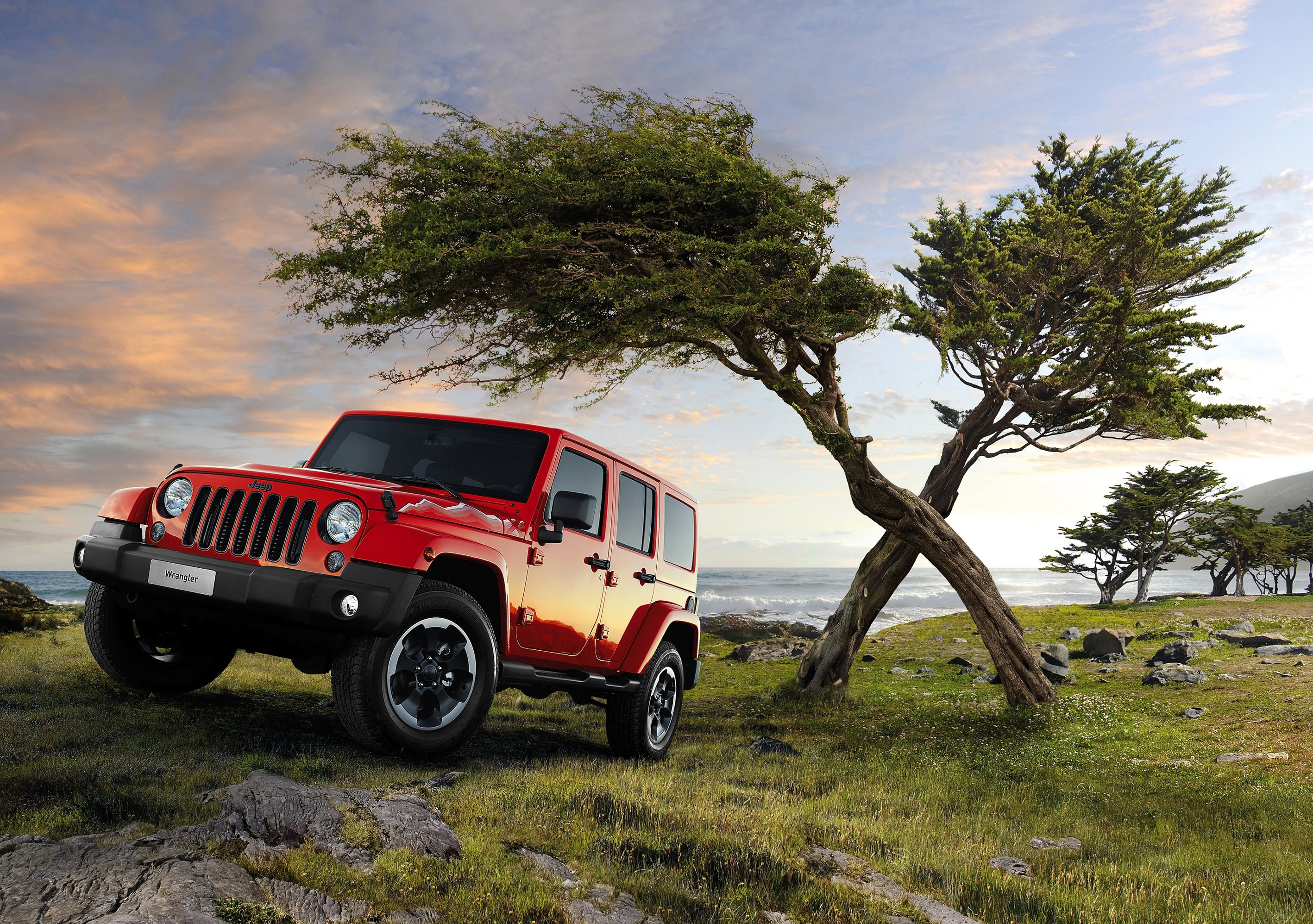 Red Jeep Wrangler Background Wallpaper 65141 2835x1995px 2835x1995