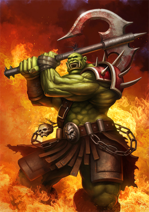orc wallpaper image   Orc clan and Orks fantasy and monsters fan group 520x736