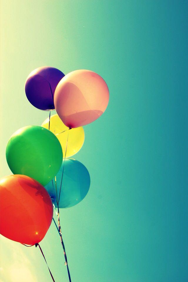 WALLPAPER BACKGROUNDS Pinterest Birthday Balloons Wallpaper 640x960