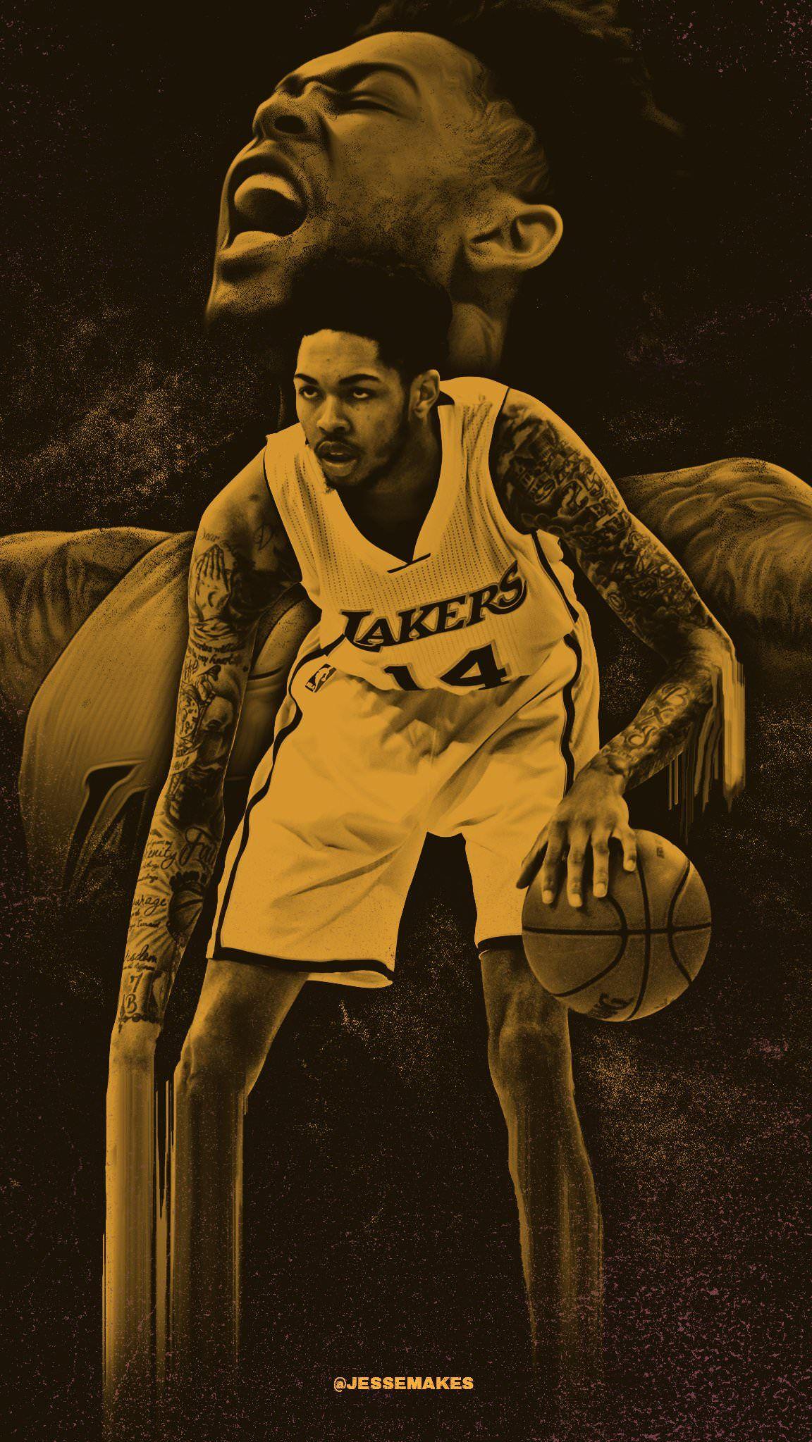 Brandon Ingram aka Slender Man Original NBA Wallpapers Brandon 1152x2047