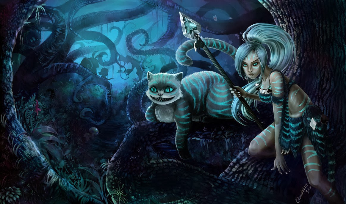 Nidalee League of Legends Wallpaper Nidalee Desktop Wallpaper 1163x686
