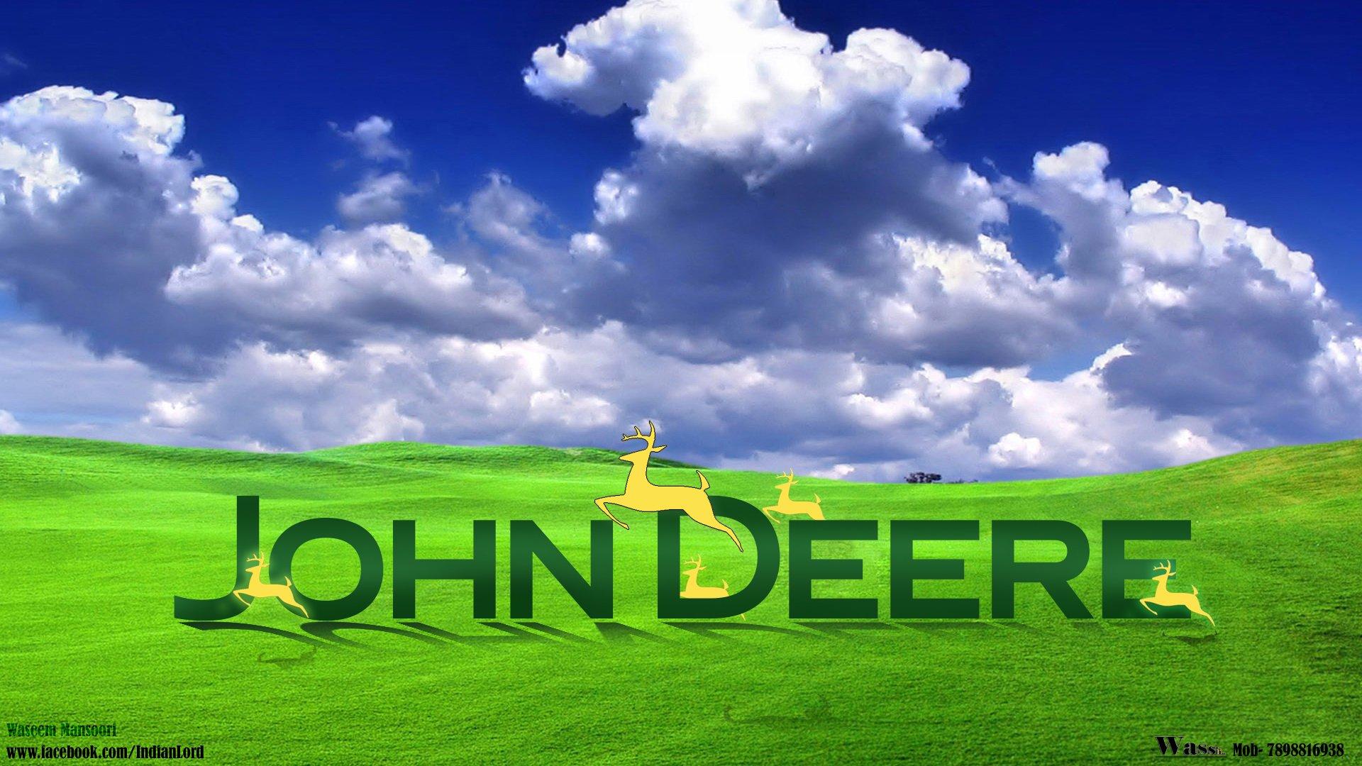 John Deere Logo Wallpaper 1920x1080