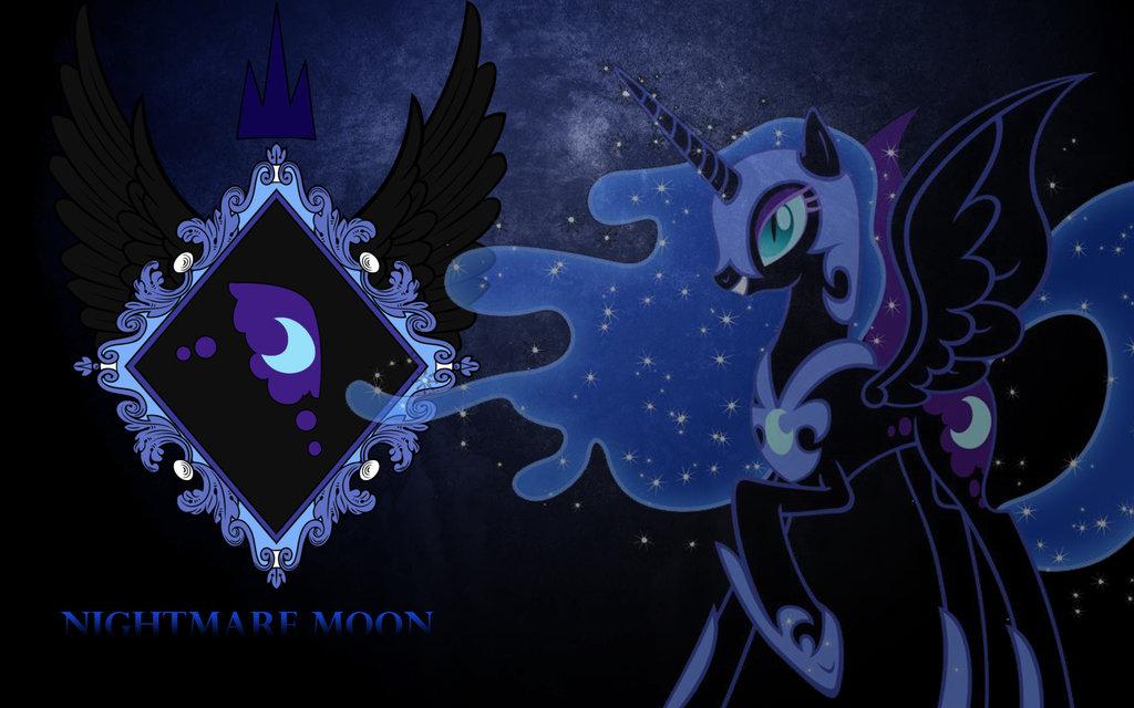 Nightmare Moon Wallpaper 1024x640