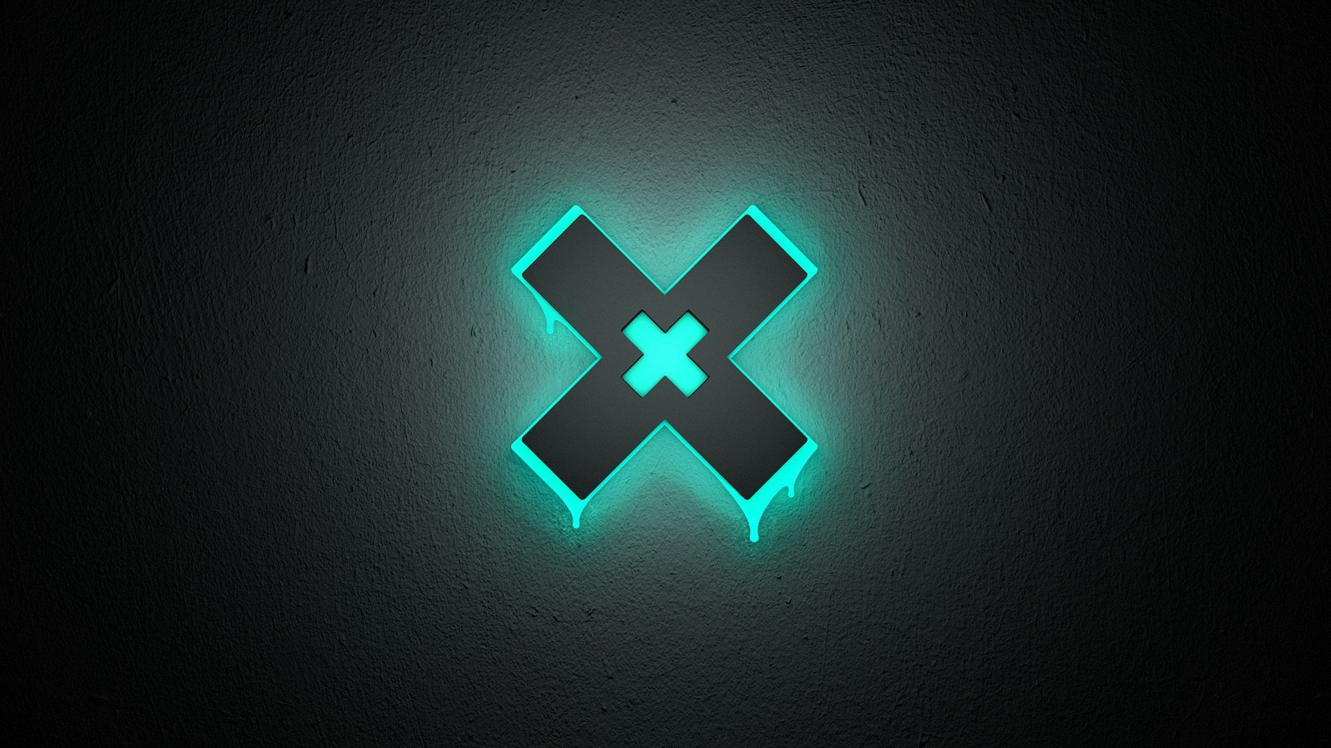 Neon X Abstract HD Wallpapers 1920x1080